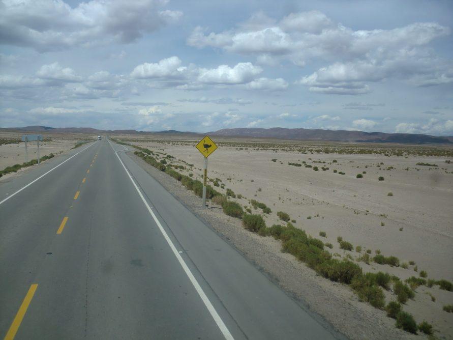 Route Uyuni Potosi