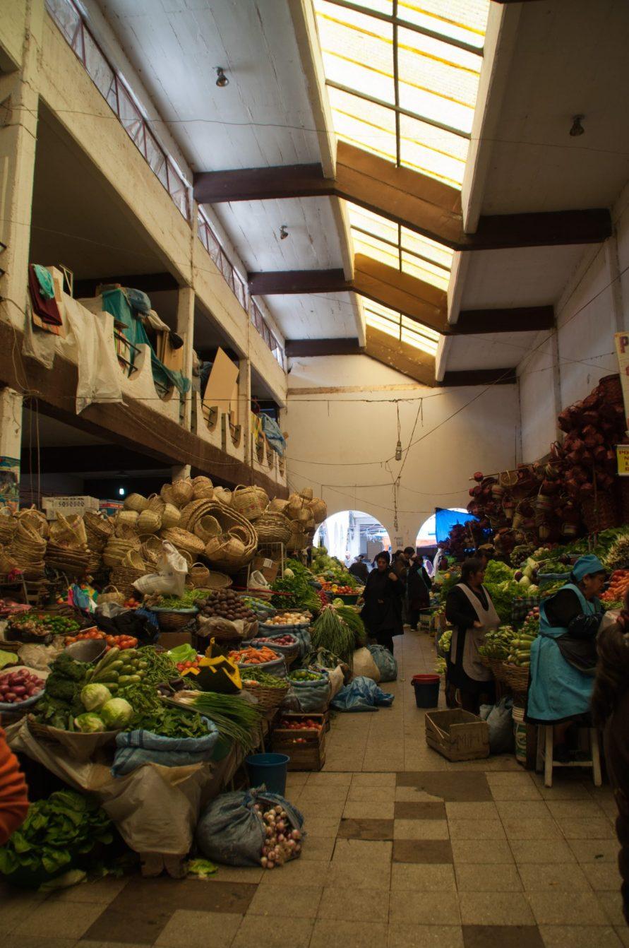 marché Sucre Bolivie