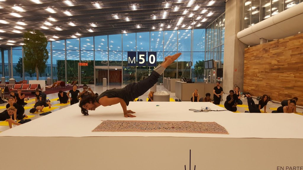 Yoga aéroport Orly