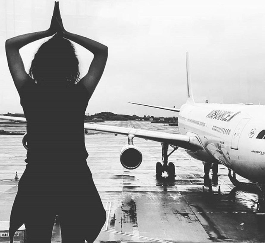 Yoga aéroport de Paris