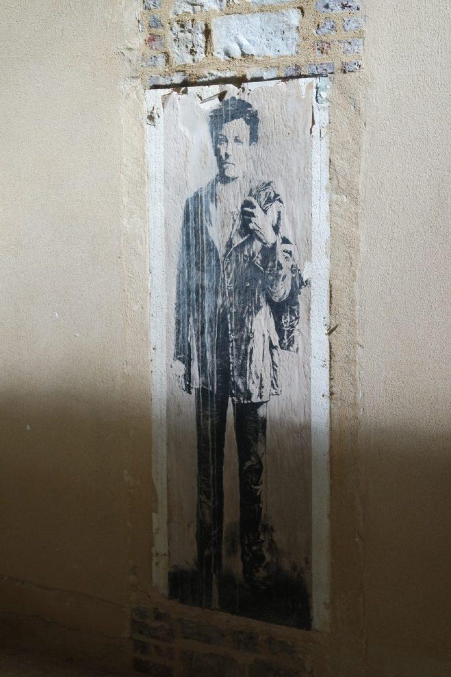 Arthur Rimbaud street art