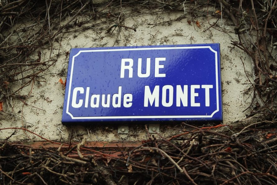 Rue Claude Monet Giverny