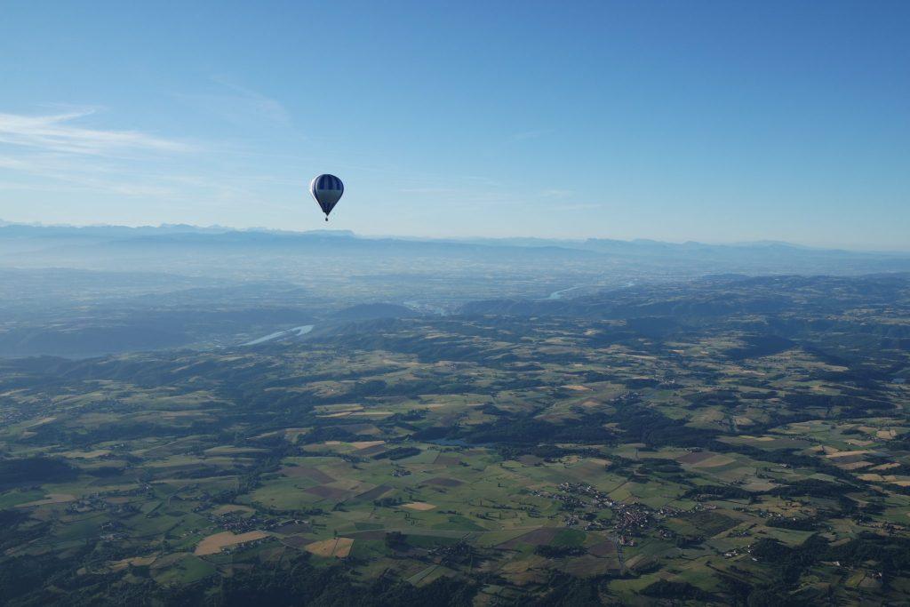 Activités insolites Ardèche paysages montgolfière
