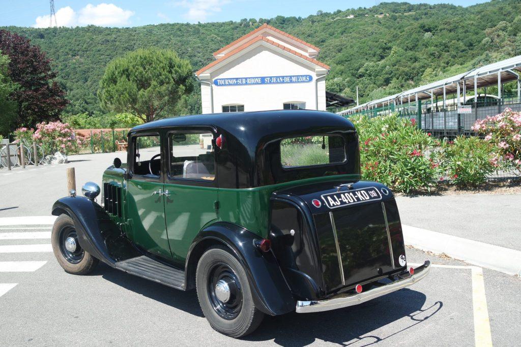 Activités insolites petit train de l'Ardèche