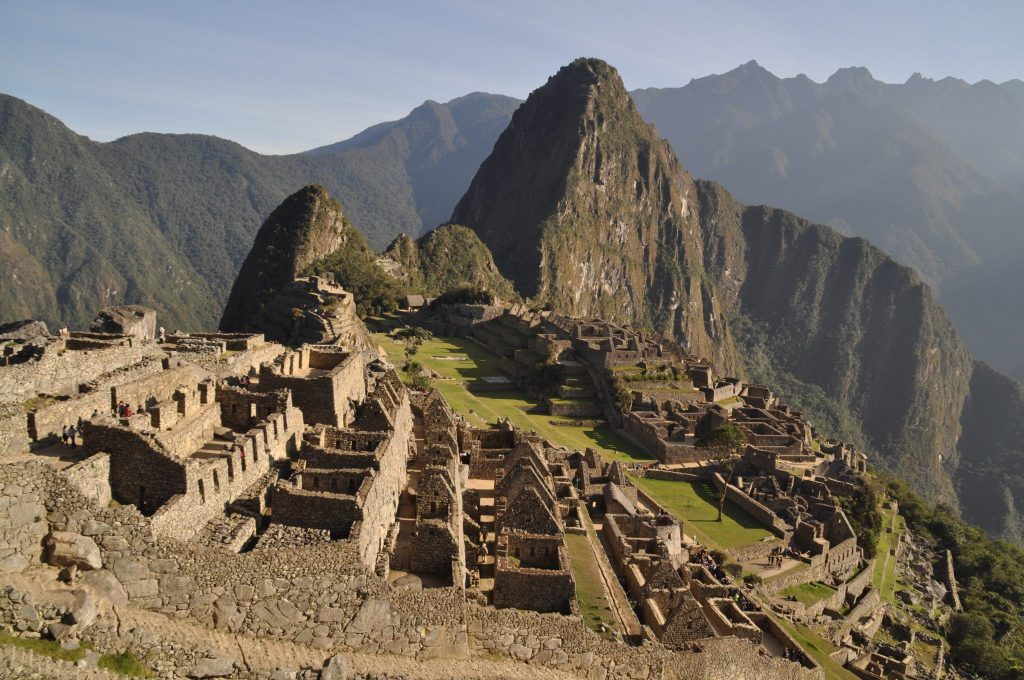 Lever du soleil Machu Picchu