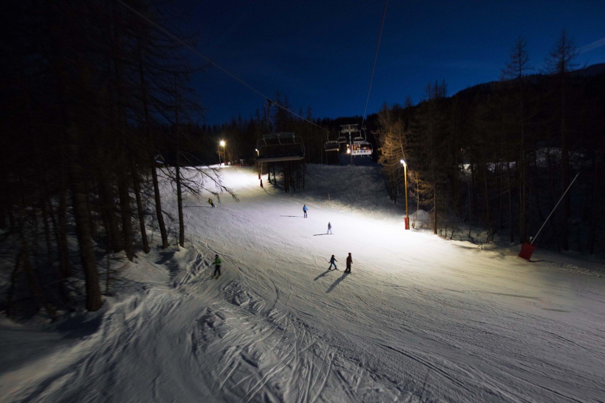 Ski de nuit Pays des Ecrins