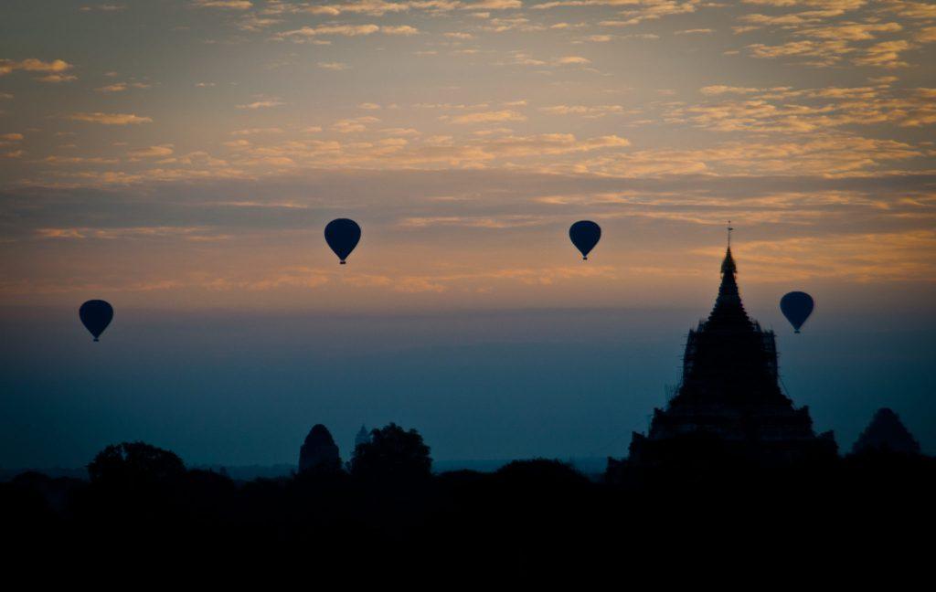 Montgolfière Myanmar