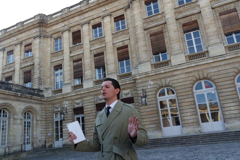 Visite insolite Mairie de Bordeaux
