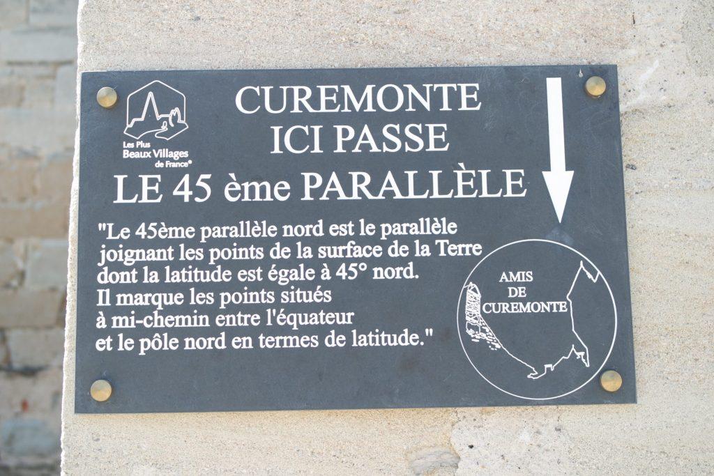 45e parallèle Curemonte