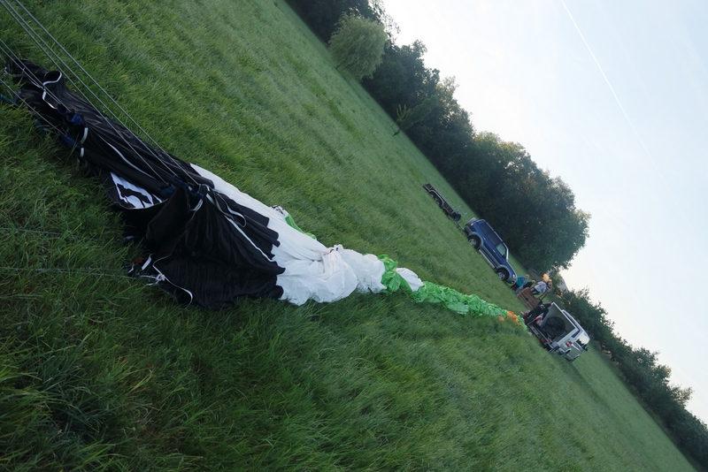 Préparation montgolfière Annonay
