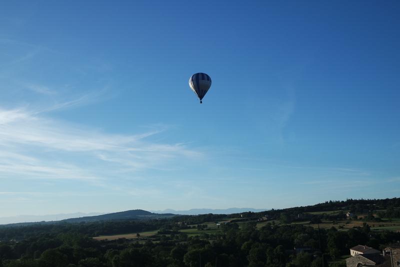 Vol montgolfière Ardèche
