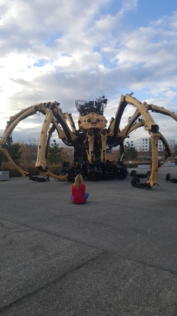 Halle de la Machine Araignée