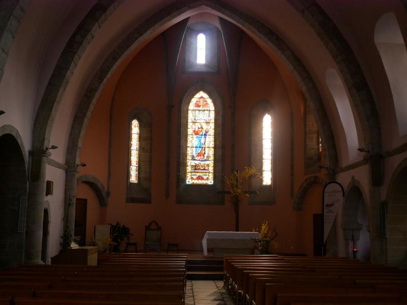 église Laissac-Séverac-l'Eglise Des Causses à l'Aubrac