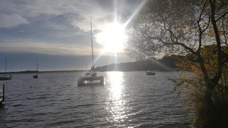 Lac Lacanau hiver