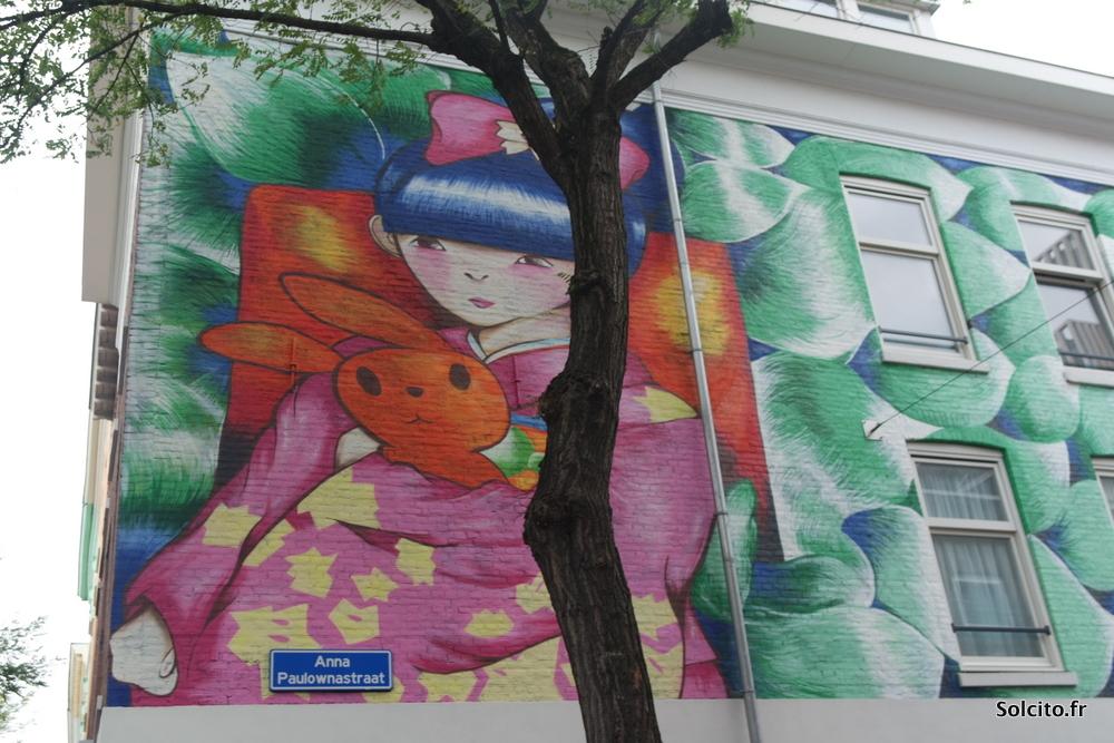 Balade street art Rotterdam
