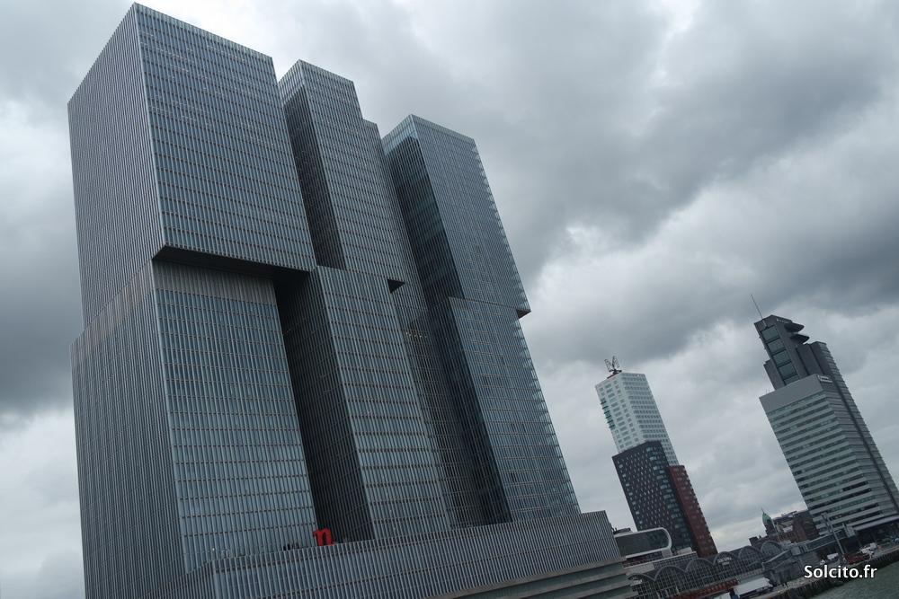 Immeubles modernes Rotterdam