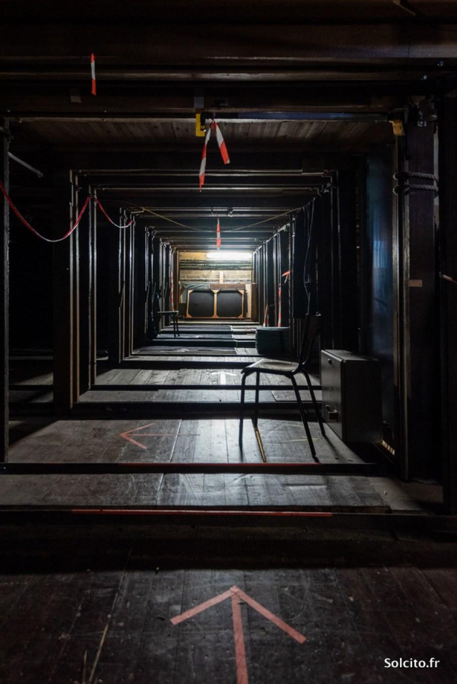 Coulisses Grand Théâtre Bordeaux