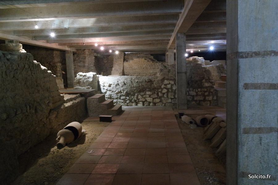 Visite souterrains Bordeaux