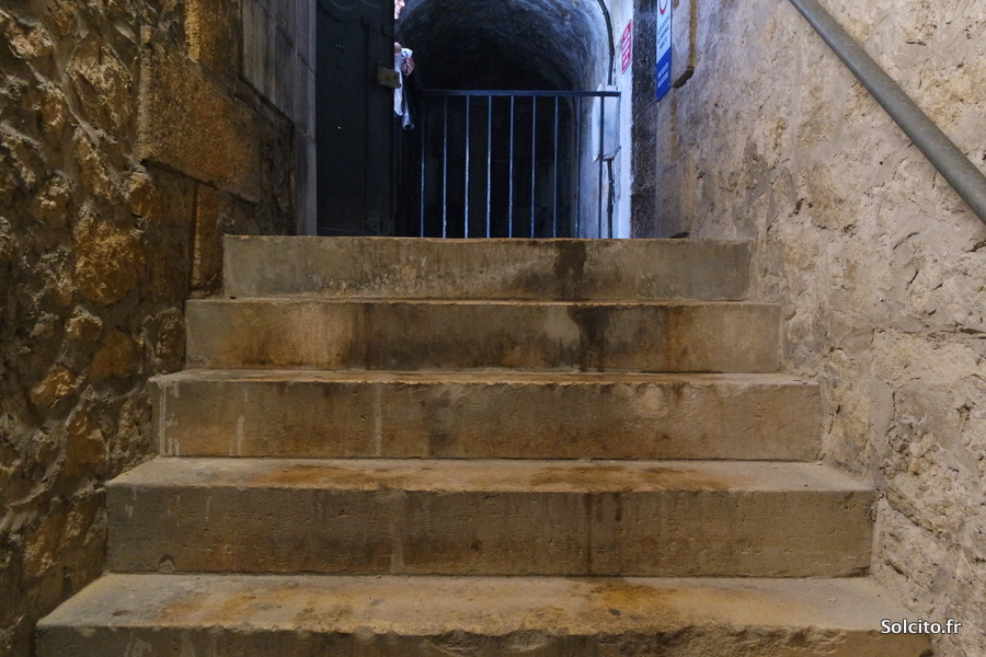 Visite insolite Souterrains Monument aux Girondins