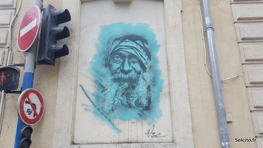 Promenade streetart montpellier