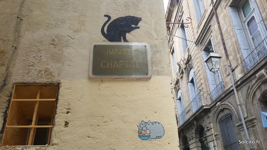 Street art rues Montpellier