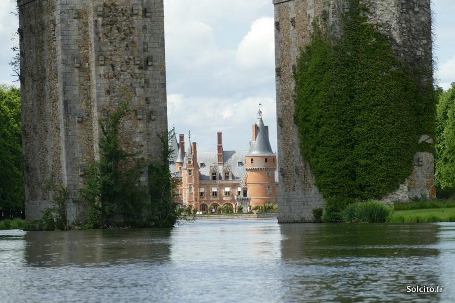 Chateau et aqueduc de Maintenon