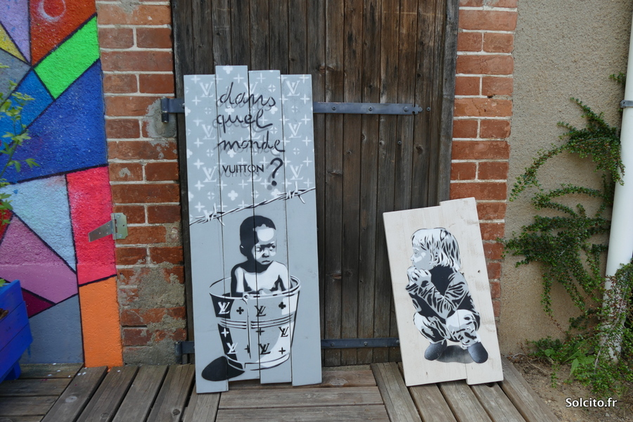 EZK street art à Chartres