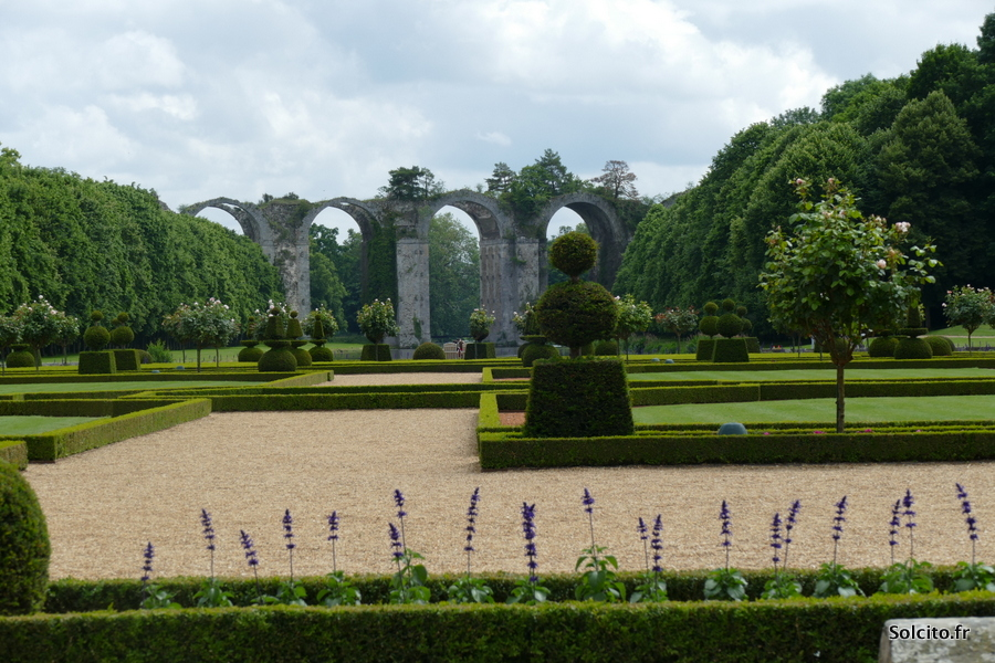 Jardin du chateau de maintenon