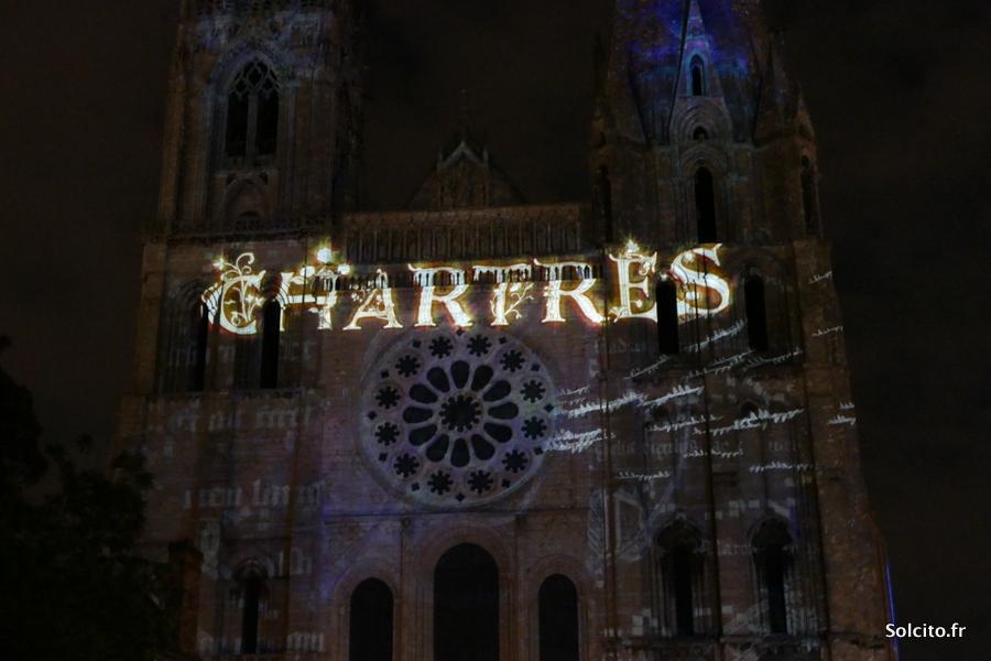 Son et lumière à Chartres