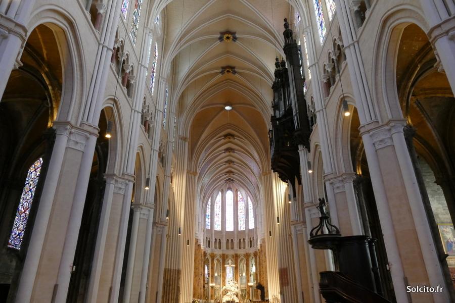 Nef cathédrale de Chartres