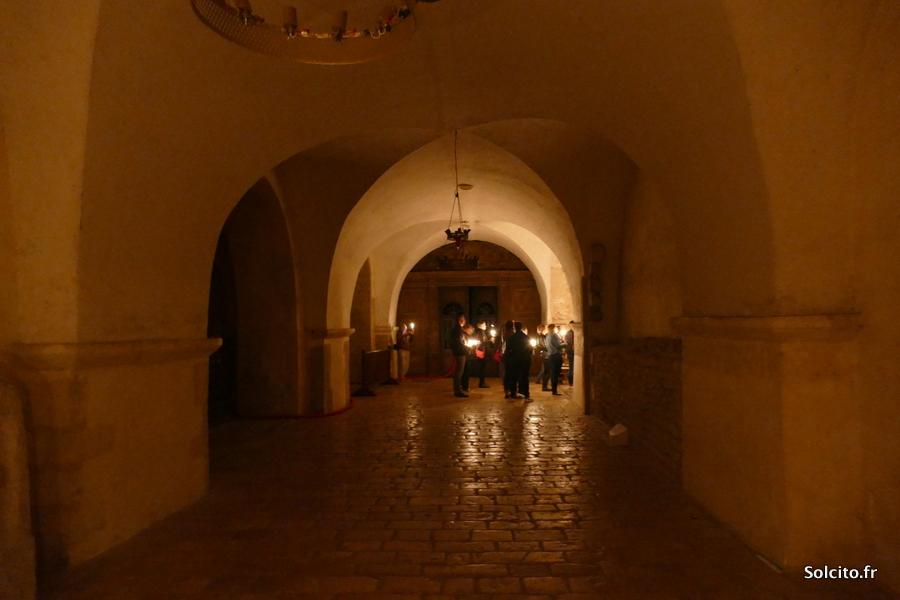 Visite de la crypte de la Cathédrale de Chartres