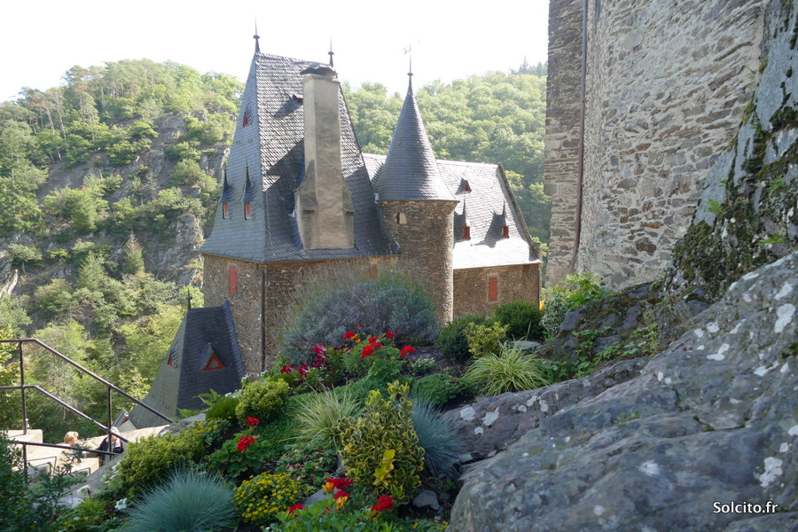 Château d'Eltz en Rhenanie Palatinat