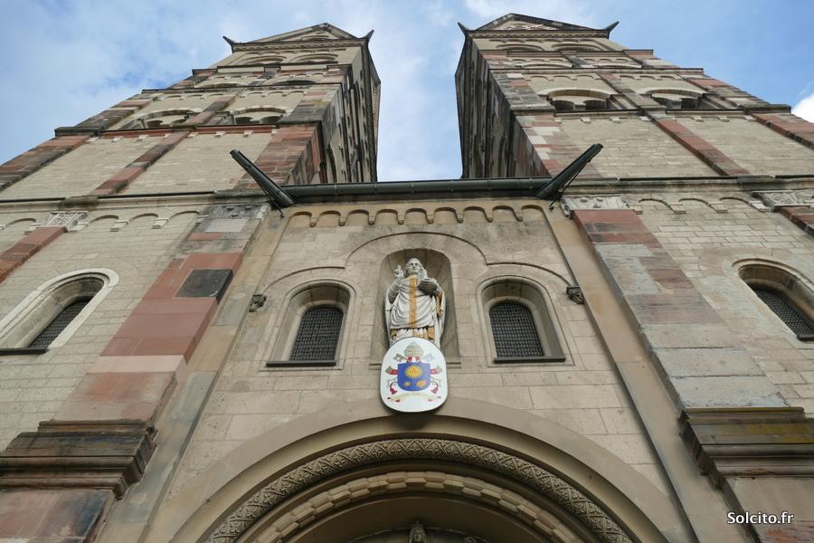 Eglise de Coblence Rhenanie-Palatinat