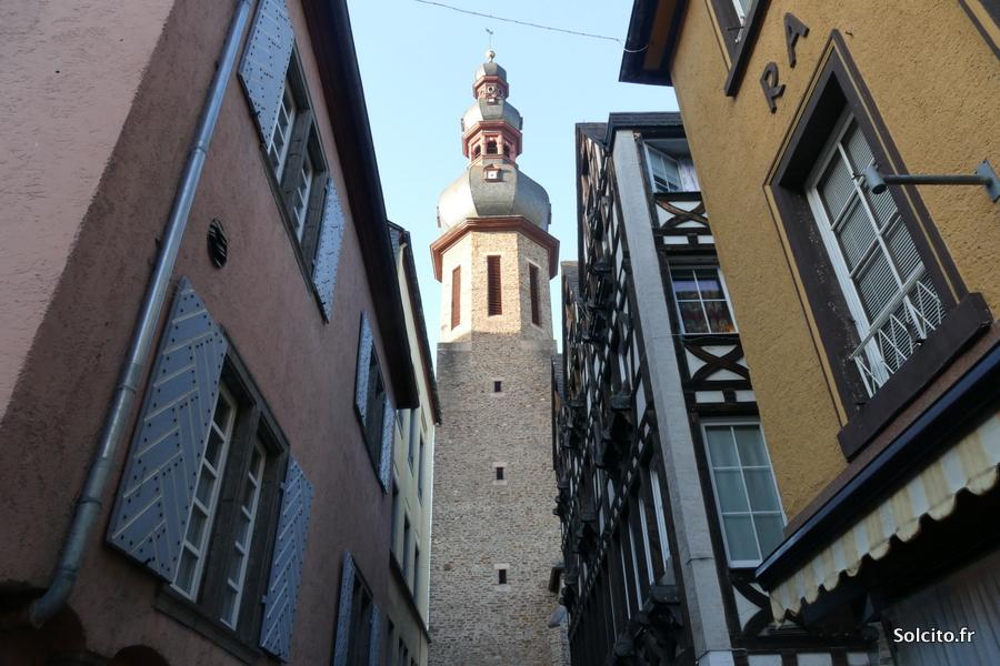 Monument Cochem Rhenanie-Palatinat