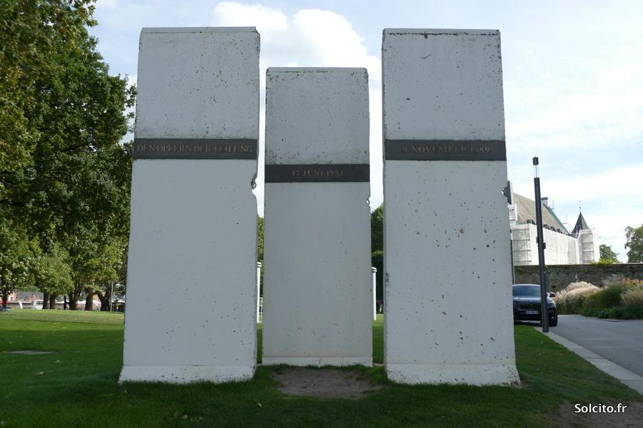 Mur de Berlin Rhenanie-Palatinat