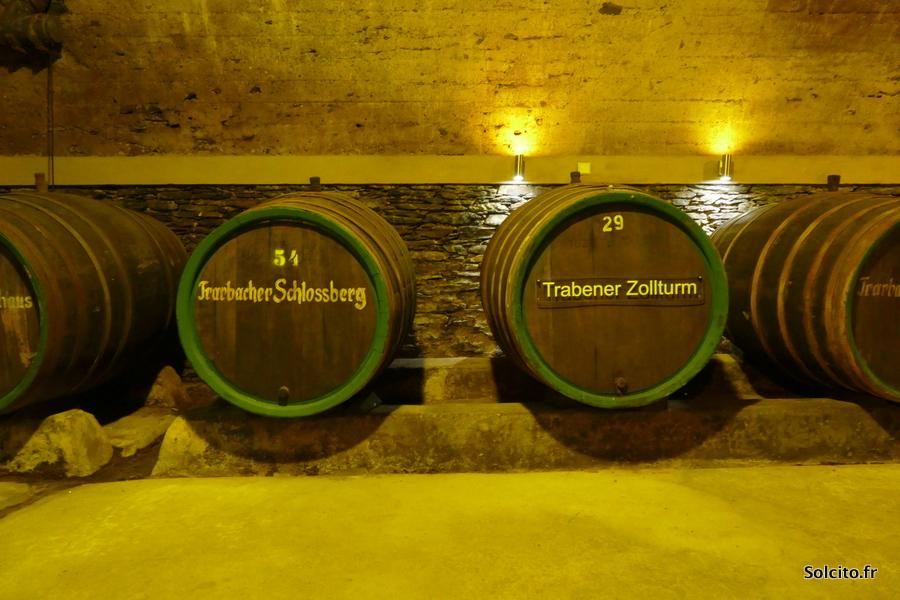 Souterrain Traben-Trarbach Rhénanie-Palatinat