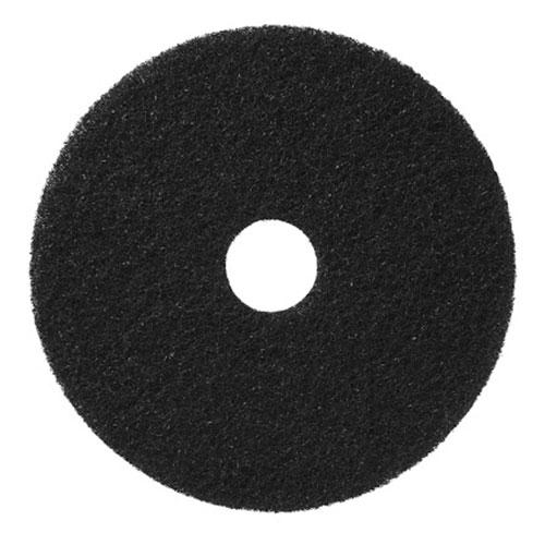 "17"" black buffing pad"