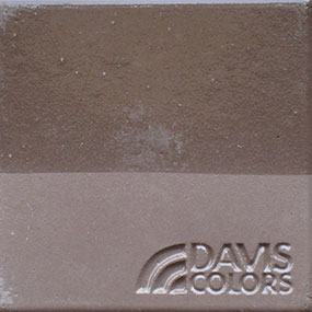 taupe color concrete chip