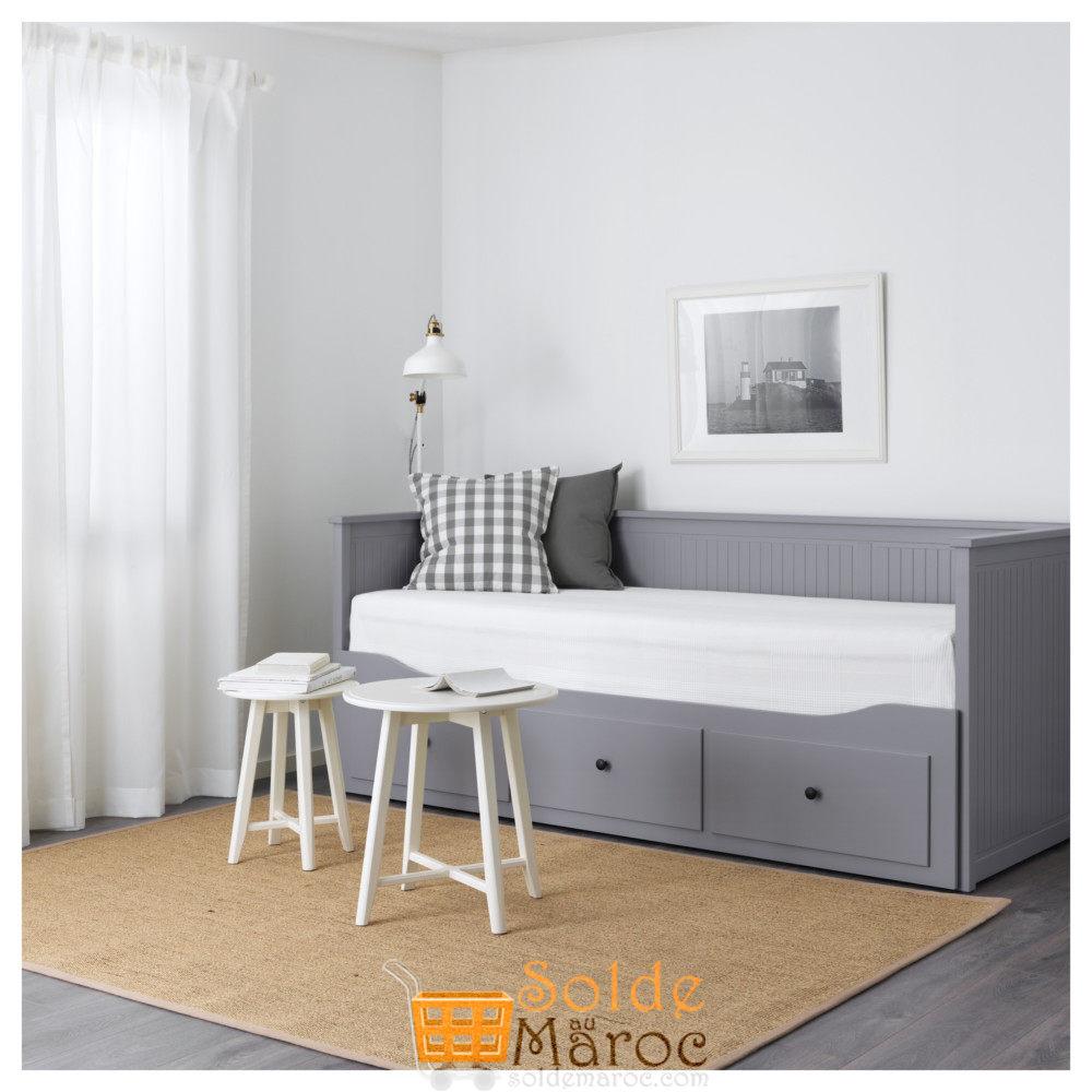 Soldes Ikea Maroc Lit Dappoint Hemnes 3tiroirs 2matelas
