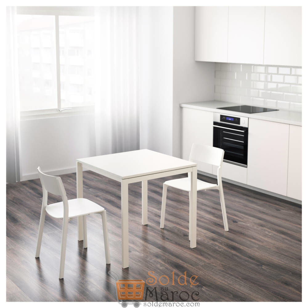 soldes ikea maroc table blanc melltorp