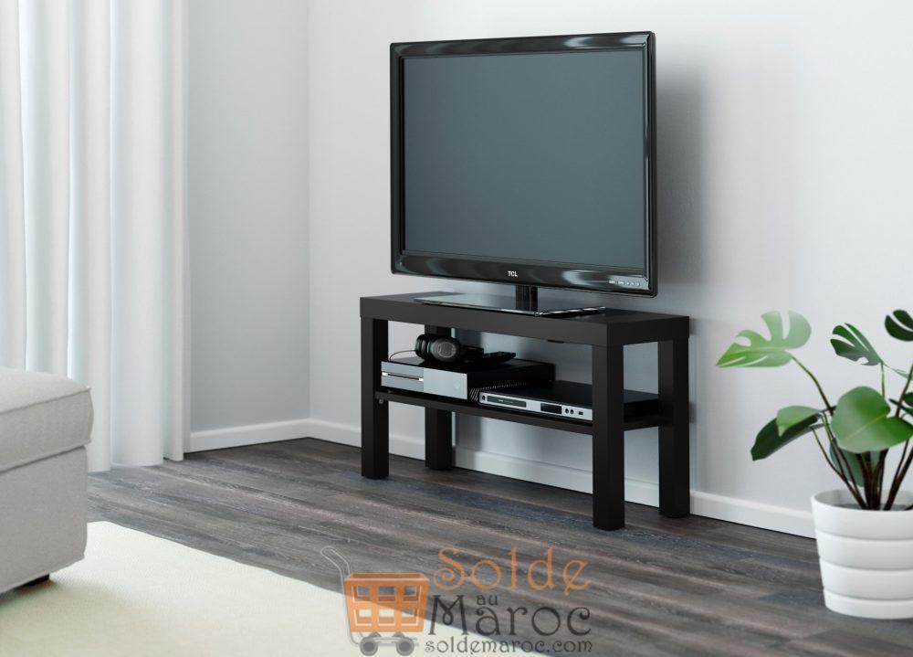 ikea maroc meuble tv lack noir 129dhs