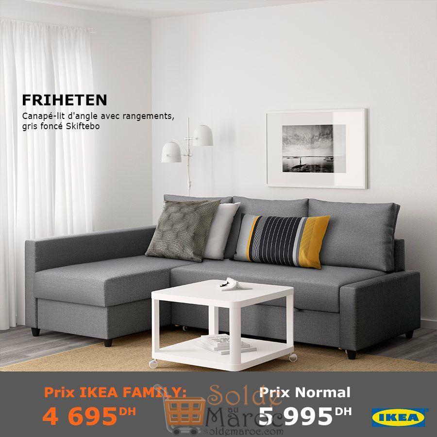 Soldes Ikea Family Maroc Canapé Lit Dangle Avec Rangement