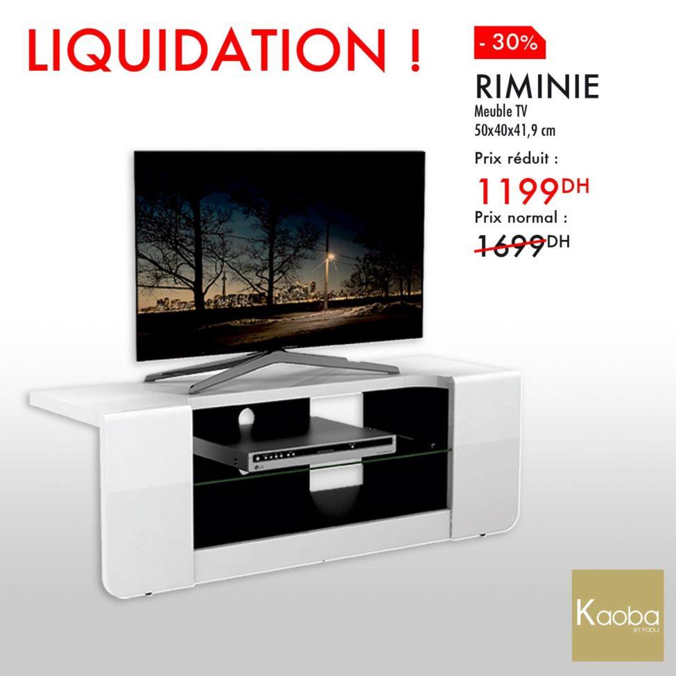 liquidation kaoba ameublement meuble tv