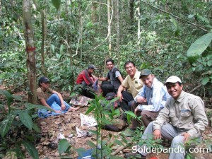 En el equipo de investigación participaron científicos de varias entidades ligadas a la investigación de recursos naturales.   Foto: V. Vos