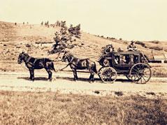 Sepia Horse & Buggy