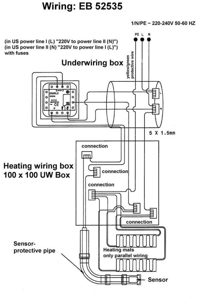 Wiring Diagram For Contactor Underfloor Heating Wiring Diagrams – Underfloor Heating Wiring Diagram