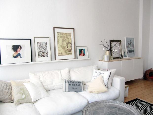 Wohnzimmergestaltung Das Sofa und sein Drumherum  SoLebIchde