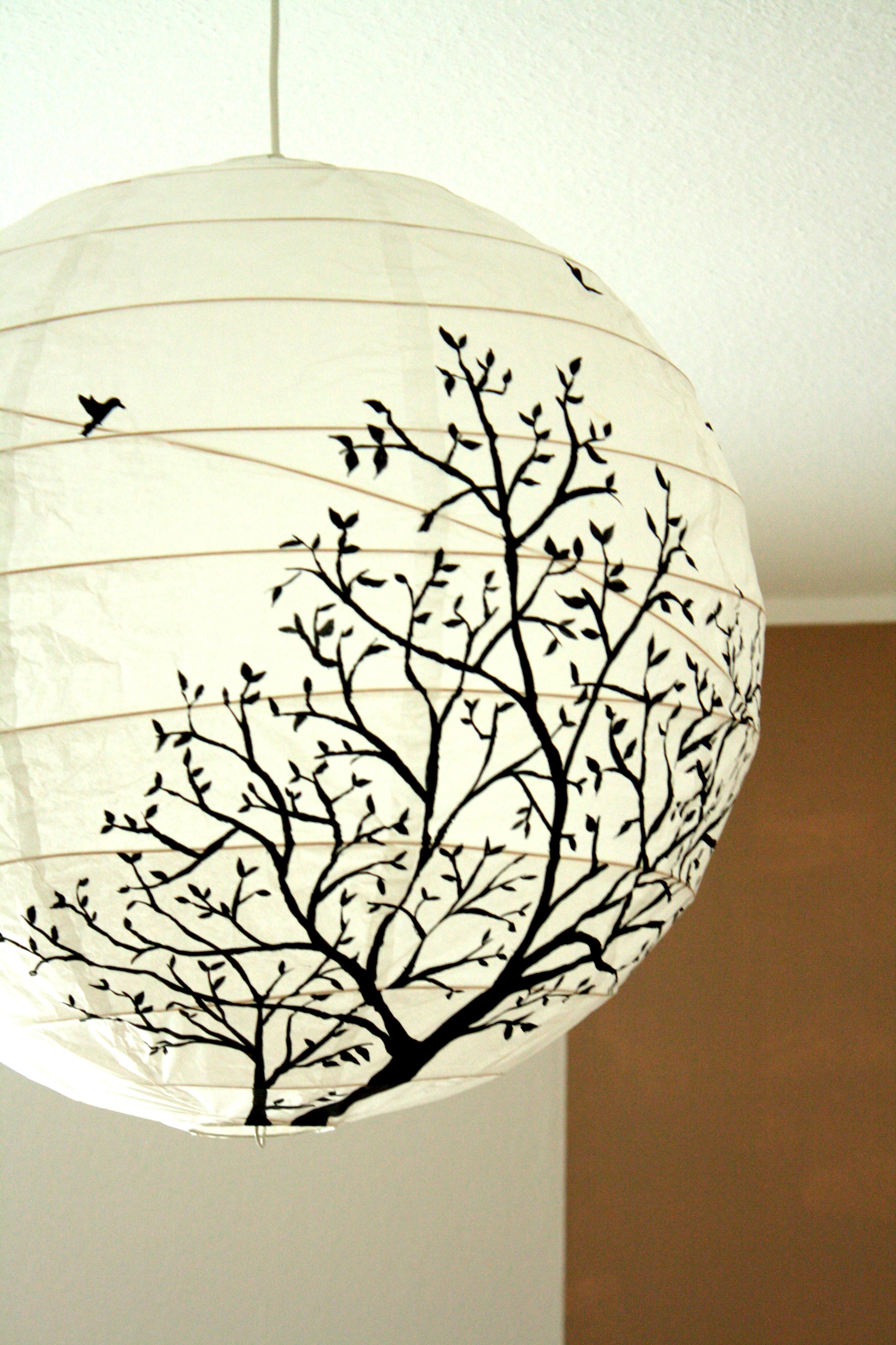 Lampenschirme selber machen Ideen  Bilder