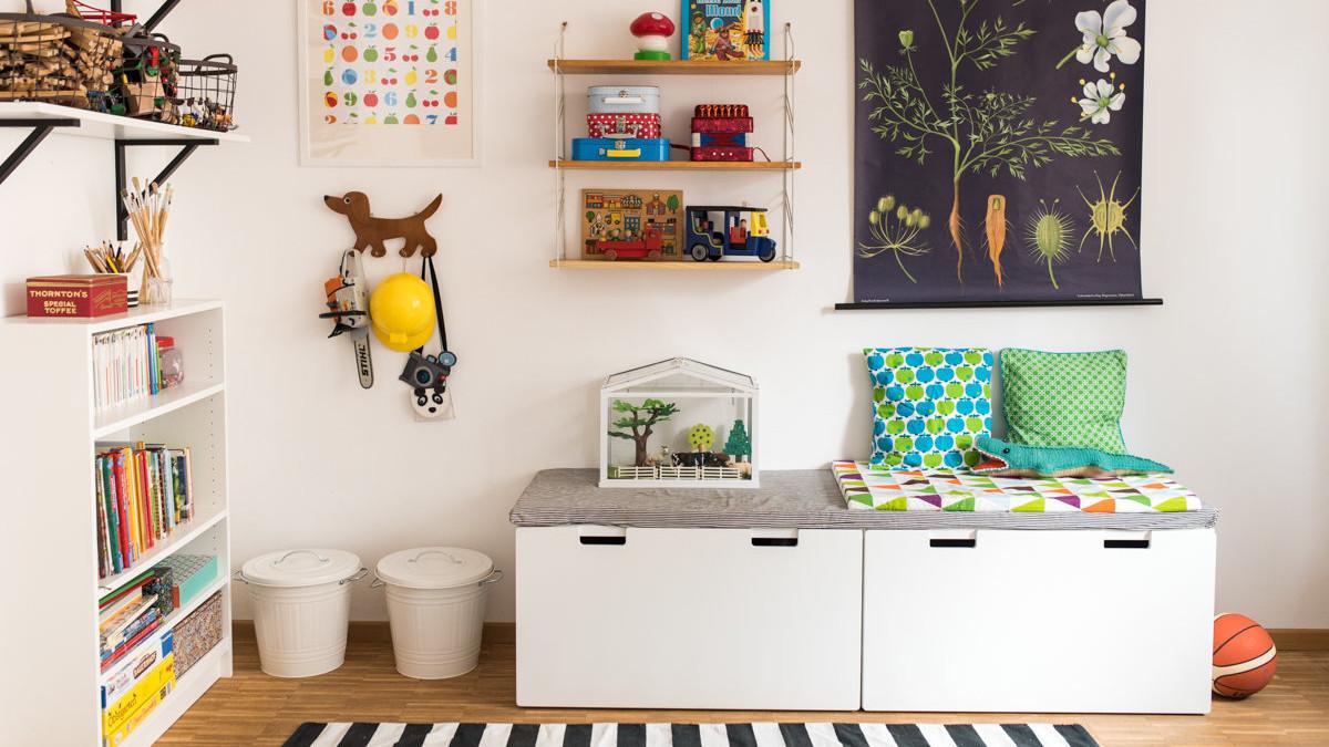 Ideen fr Stauraum und Aufbewahrung im Kinderzimmer
