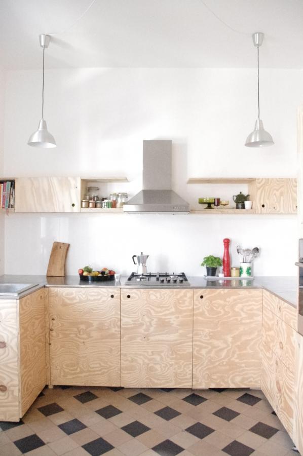 Wohnideen fr Holzliebhaber Sperrholz und Plywood